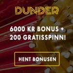 Ventetiden er over – Dunder Casino er lansert!